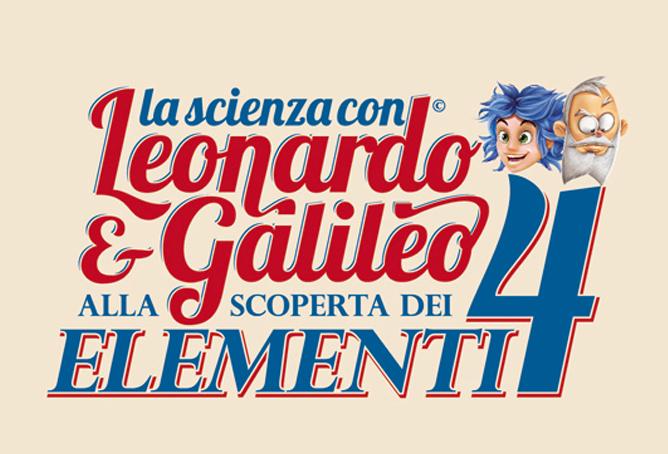 Leonardo Galileo astrofood 4 elementi
