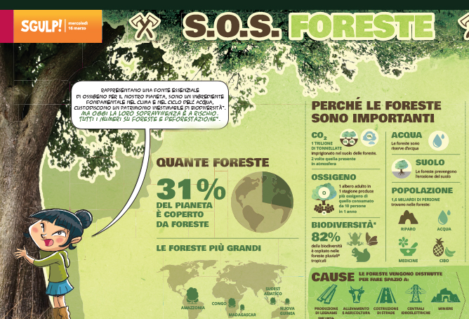 Sgulp! Foreste by Pleiadi Science Farmer Educazione STEAM STEM scienza esperimenti laboratori imparare con le mani mostra interattiva progetto educativo infanzia adolescenti bambini eventi didattici scientifici