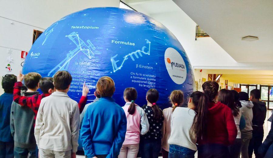 Planetario Pleiadi costellazione scienza astronomia Educazione STEAM STEM